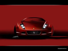 ferrari sport sedan by carlexdesign