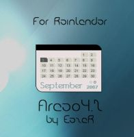 Areao4.2 for rainlendar by EazeR