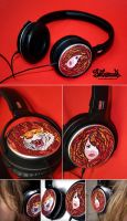 Nicks Headphones by Bobsmade