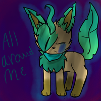All Around me + Speedpaint by Featherpool101