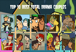 Total Drama Best Couples by King-D4
