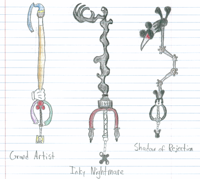 Keyblades: Epic Mickey Style by D-warrior35