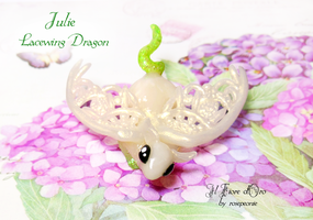 Julie, Lacewing dragon by rosepeonie