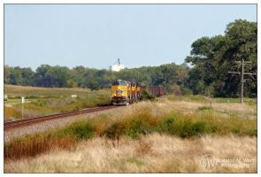 Westbound at MP 305 by factorone33