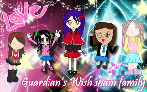 Spam Family Wallpaper FINAL by NiiNAx