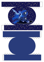 Luna Bento Box 1/4 by demonreapergirl
