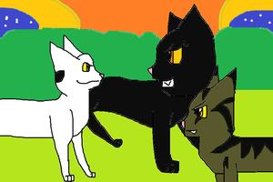 Bone meets the Night and a Lizard by skyclan199