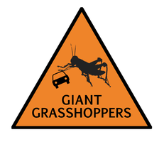 Giant Grasshoppers by davidwpaul