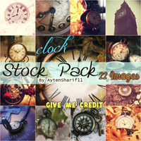 Clocks - Stock Pack #5 by AytenSharif11