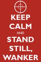 TF2 - KEEP CALM and STAND STILL by LittleFireDragon