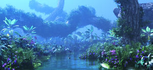 Avatar Fan Film Forest Vegetation Test 1 by Massi-San