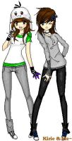 Best friends - Me And Kirie by Toastered