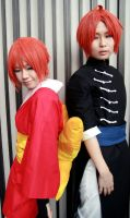 Gintama - Yato siblings by gk-reiko