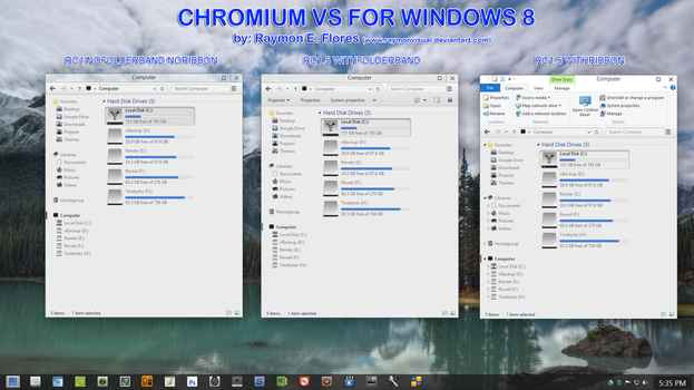 Chromium RC2 vs updated may16,2013 by RaymonVisual