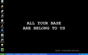 All your base are belong to us by SingDownTheMoon