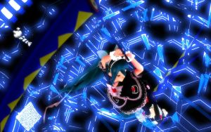 MMD Scythe close-up + Mikugos by SpehDaBlack