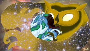 [Adventure Time] King of the Cosmos by ccucco