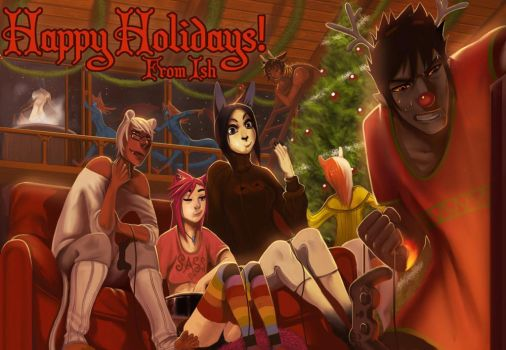 Happy Holidays by Ishton