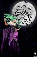 Morrigan Flight by ScislaC