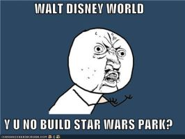 Disney World Y U NO by Dragonrider1227