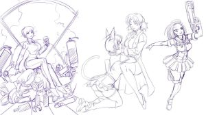 Commission wip20100707 by bokuman