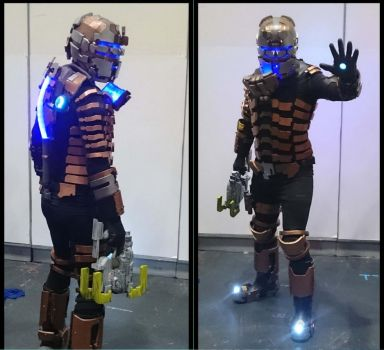 Isaac Clarke Cosplay Dead Space 2 by Dax79