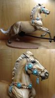 My latest Breyer and Breyer halter by Scutterland