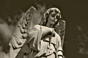 Angels Watching Over Me III by touch-the-flame