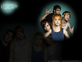 Paramore Wallpaper by Stephue