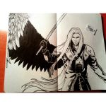 Sephiroth by Tamy-ChanCross