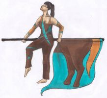 Colorguard- Sagittarius by ZutaraMushroom