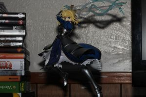 Saber by Aether-Shadow