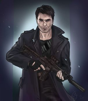 Captain Harkness by Abecedye