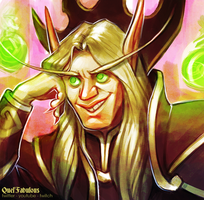 Condescending Kael'Thas by Katmomma