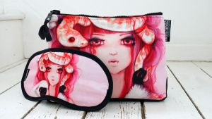 Eye Mask and Mini Bag by camilladerrico