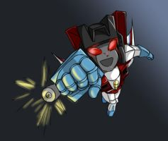 Chibi Starscream by Ty-Chou