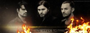 Mars Fire  Fb Cover by lovelives4ever