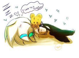 Kevin: I love you Teddy Bear.. by Omiza