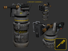 Rotary Cannon Turret by Herschel-Hoffmeyer