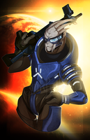 Archangel - Garrus by Inkfall