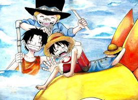 Luffy- dream by madziulkabr