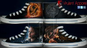 Hunger Games Katniss by VirulentApparel