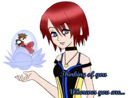 Kairi::Thinking of You by LordNinja