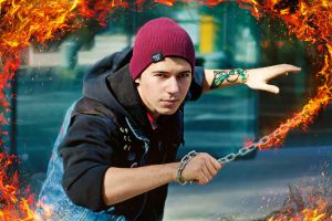 InFamous: second son by AndrielTaro