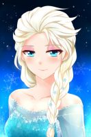 Commission - Elsa by kago-tan