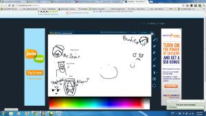 Admin's doodles on Tinychat by AskFemHumanStephano