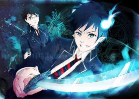 Ao No Exorcist by Immature-Child02