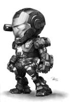 War machine (chibi) by reniervivas666