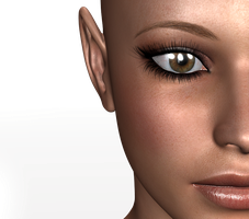 female face stock by cubstock
