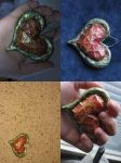 Heart Container Necklace by DiceDisaster